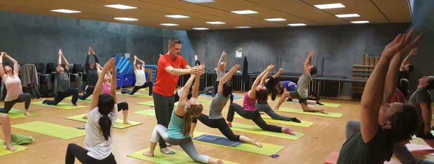 Fortbildungen für Yogalehrer