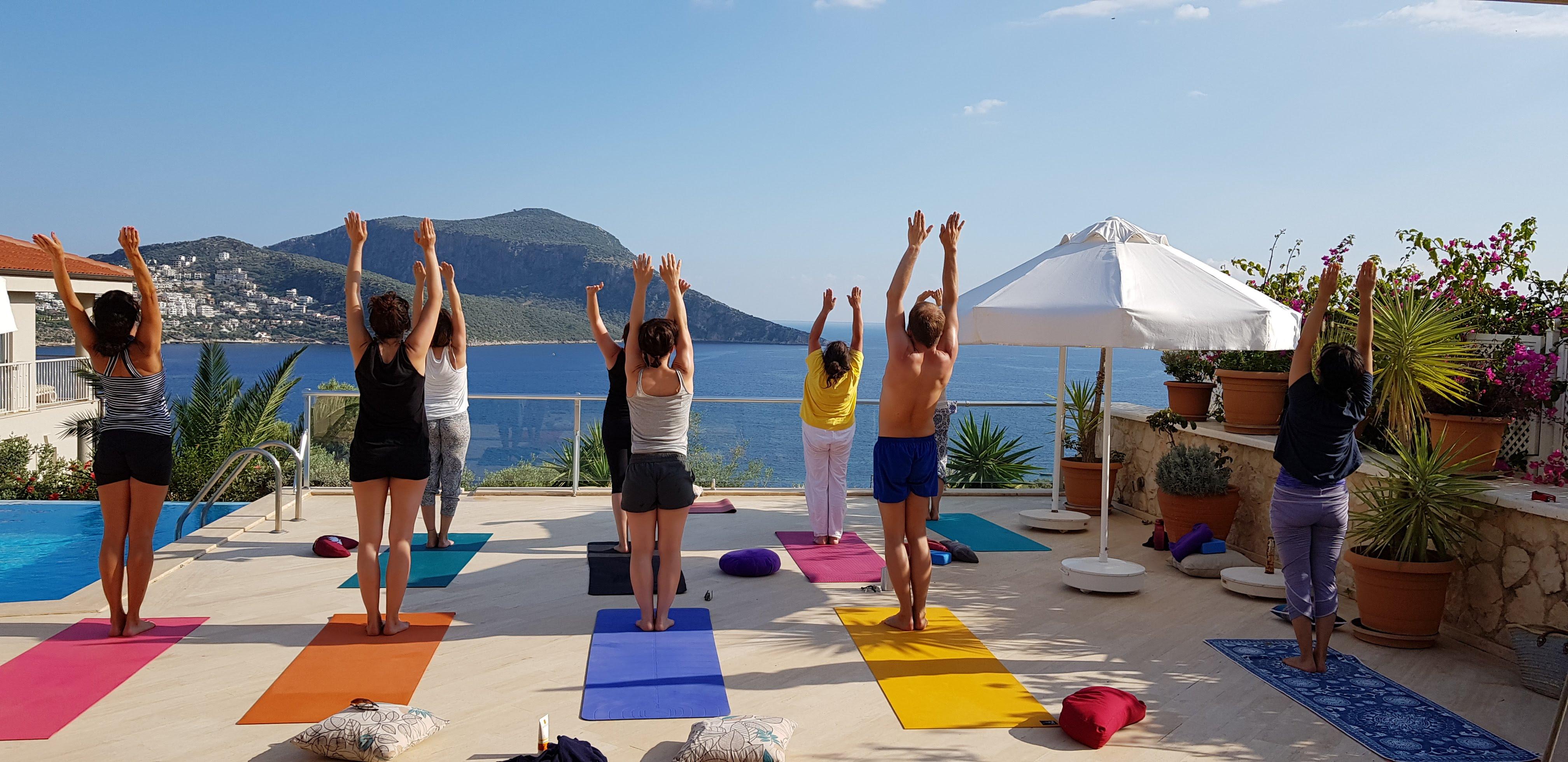 8 Tage- Leben wie ein Yogi @Kalkan am Mittelmeer, Türkei